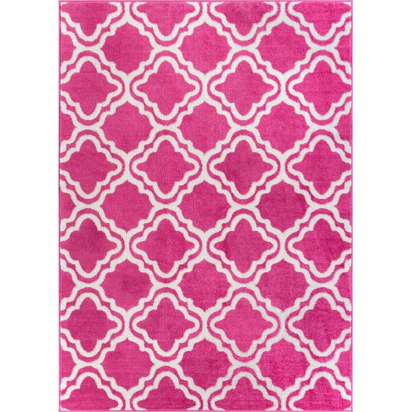 Juliet Calipso Pink Area Rug by Viv + Rae