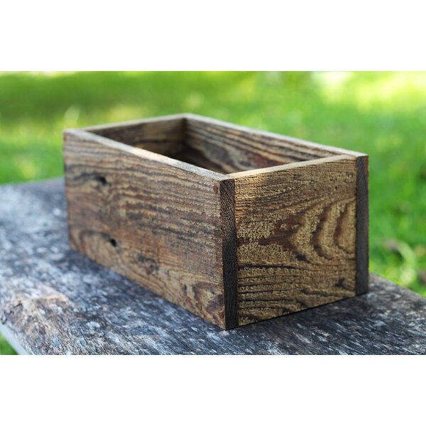 Leicester Wood Planter Box by Loon Peak