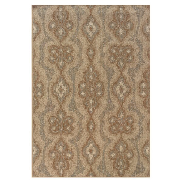 Bingley Blue/Beige Area Rug by Bungalow Rose