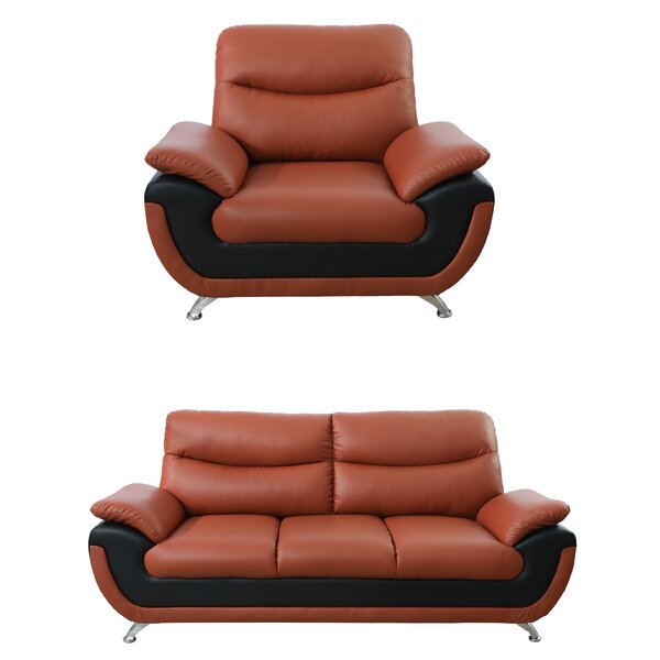 Nevarez 2 Piece Living Room Set by Orren Ellis