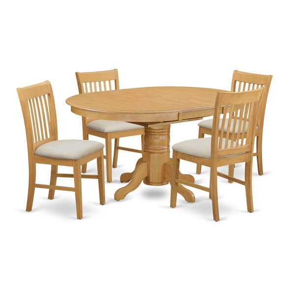 Fresh Emmaline 5 Piece Dining Set By Alcott Hill Cool