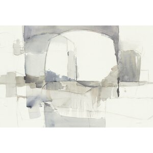 'Improvisation I' Painting Print on Canvas by East Urban Home