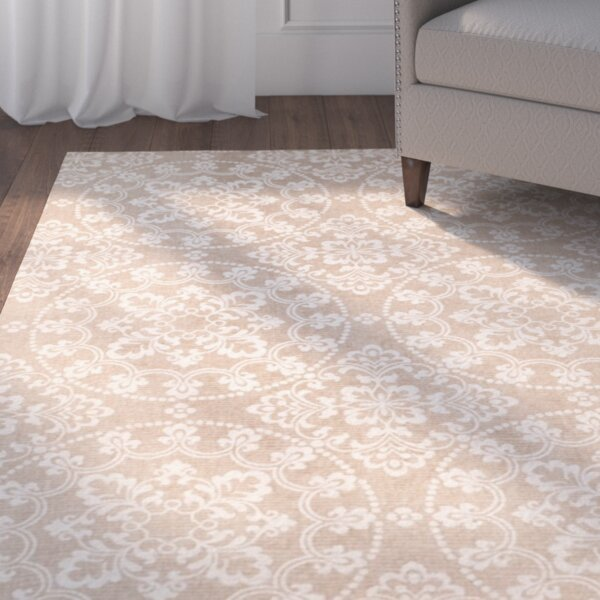 Charing Cross Hand-Loomed Taupe / Natural Area Rug by Charlton Home
