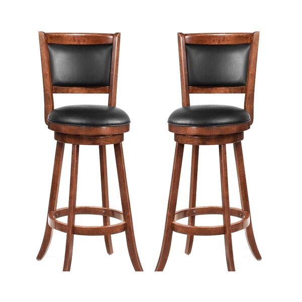 Jackman 29 Swivel Bar Stool (Set of 2) by Wildon Home ®