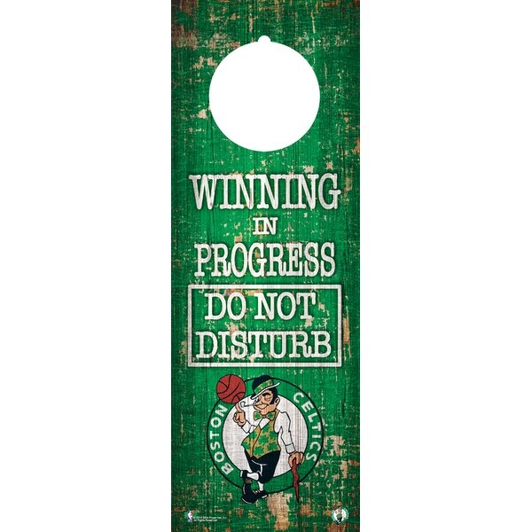 NBA Door Hanger Wall Décor by Fan Creations