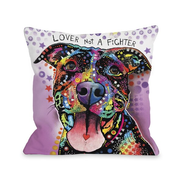 Doggy Décor Ms. Understood with Text Throw Pillow by One Bella Casa