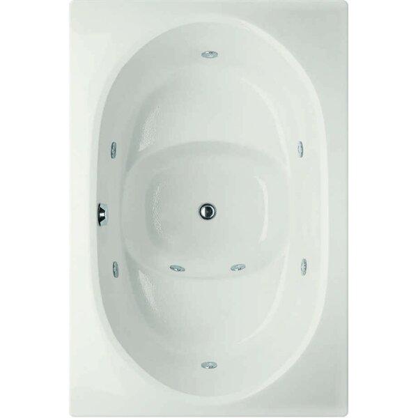 Designer Fuji 60 x 40 Whirlpool Bathtub by Hydro Systems