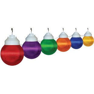 Inexpensive 6-Light Globe String Lights By Polymer Products