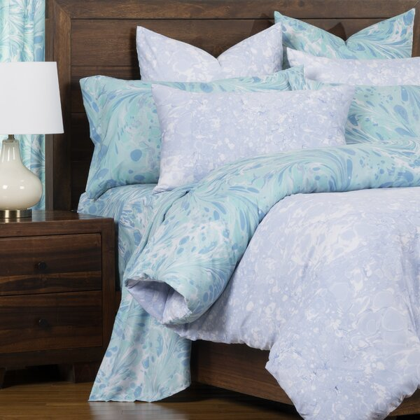 Triton Blue Ice Reversible Duvet Cover and Insert Set