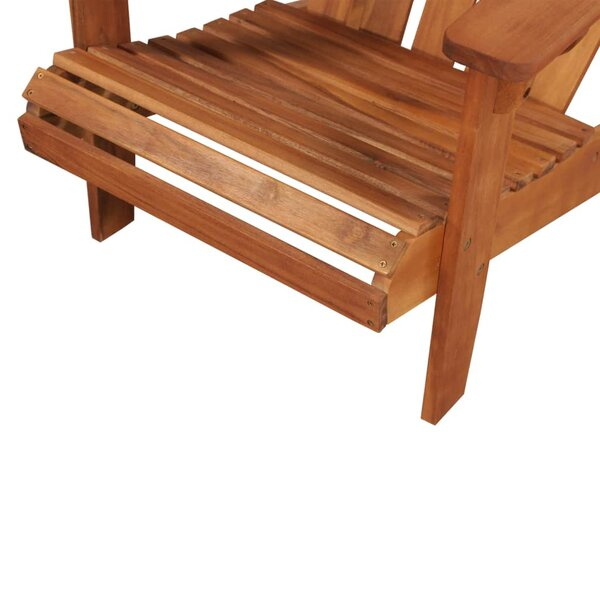 Felice Solid Wood Adirondack Chair by Highland Dunes Highland Dunes