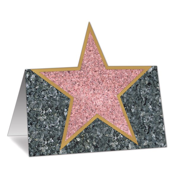 Awards Night Star Place Card Holder (Set of 12) by The Holiday Aisle