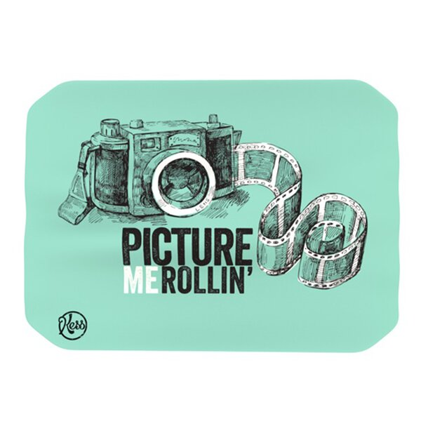 Picture Me Rollin Placemat by KESS InHouse
