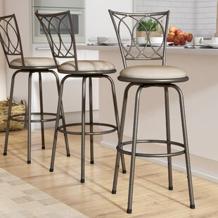 Comparison Frankfort Swivel Bar Stool (Set of 3) by Three Posts