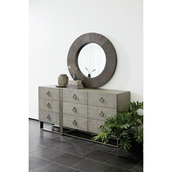 Linea 9 Drawer Dresser With Mirror By Brayden Studio by Brayden Studio Best Design