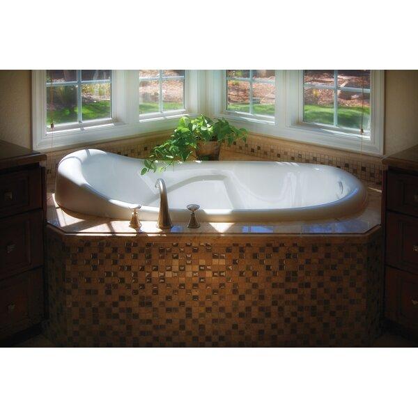 Designer Kimberly 72 x 40 Soaking Bathtub by Hydro Systems