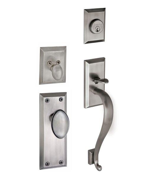 Fifth Avenue Keyed Door Knob by Grandeur