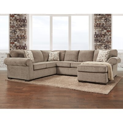 Red Barrel Studio Reversible Stationary Sectional Sectionals