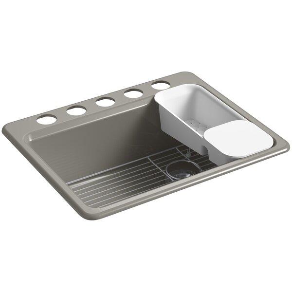 Riverby 27 L x 22 W Undermount Single Bowl Kitchen Sink by Kohler