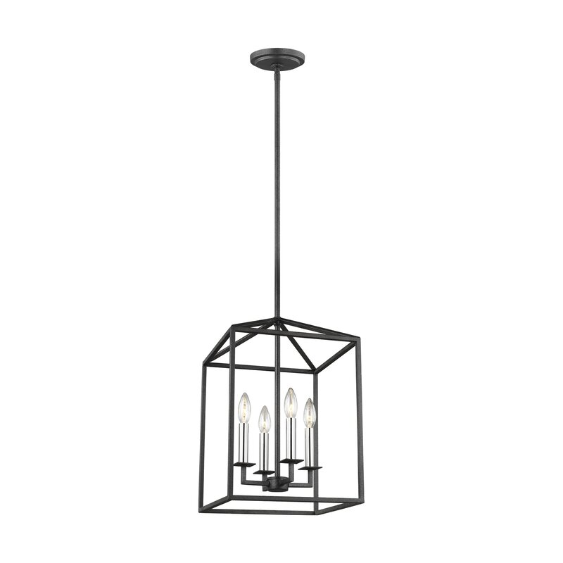 Odie 4-Light Foyer Pendant