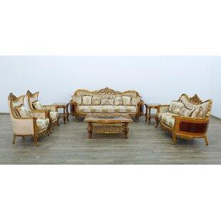 Maggiolini Configurable 3 Piece Living Room Set by European Furniture