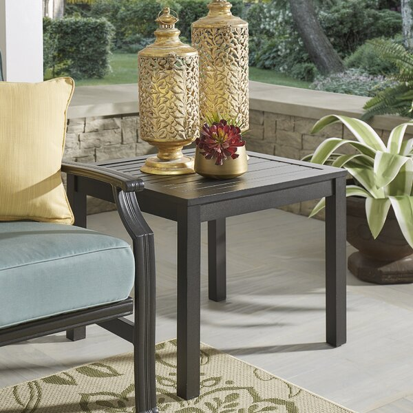Villenova Metal Side Table by Darby Home Co