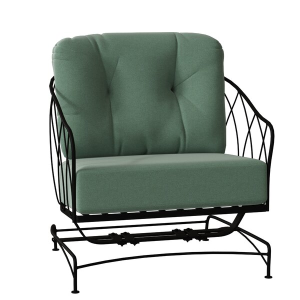 Delany Spring Patio Chair with Cushions by Woodard