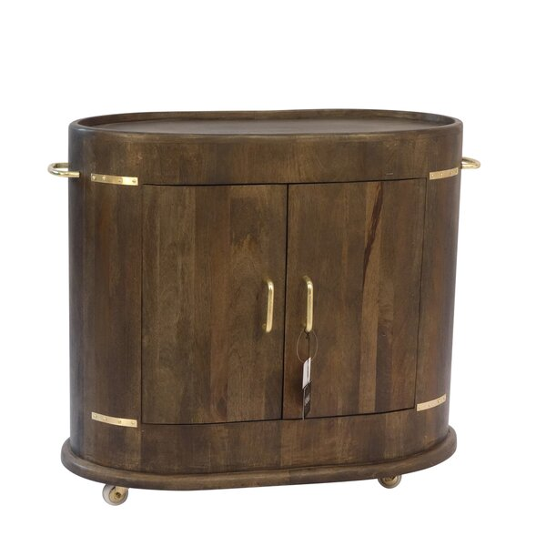 Stanyon 2 Door Oval Accent Cabinet