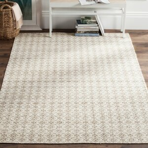 Anis Kilim Hand-Woven Wool Gray/Ivory Area Rug