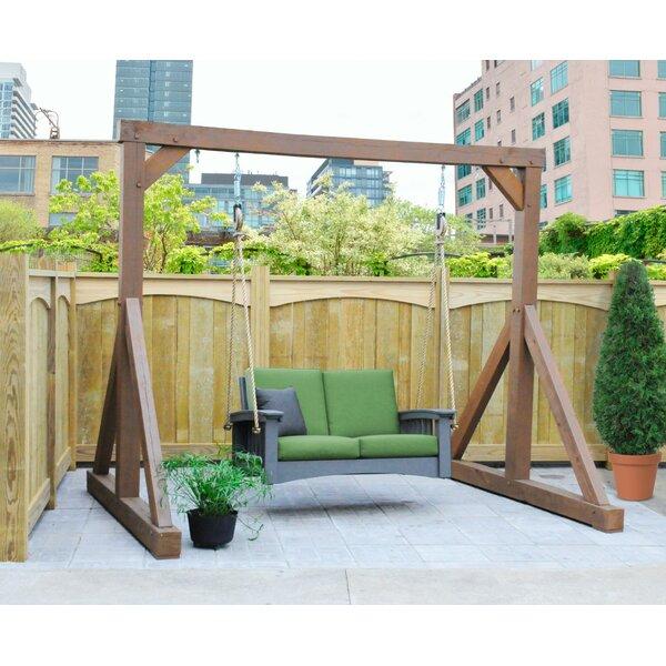 Adaline Lounge Rope Porch Swing by Rosalind Wheeler