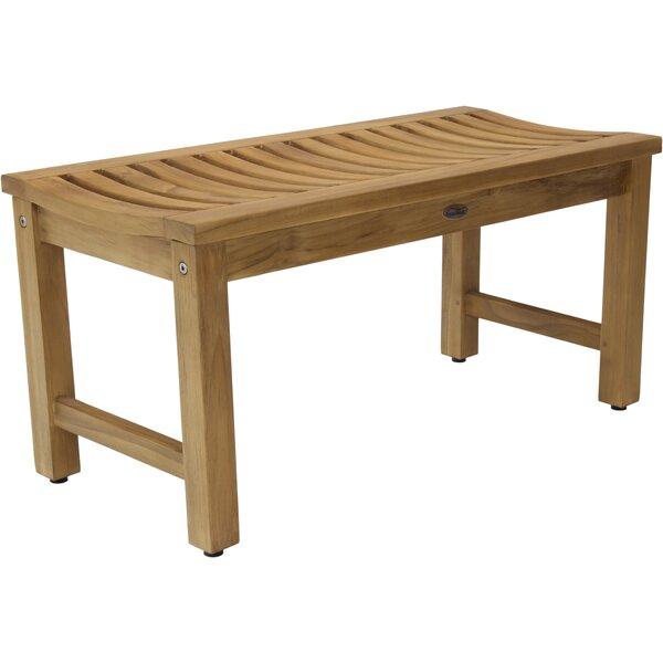 Stratus Teak Picnic Bench by Aqua Teak Aqua Teak