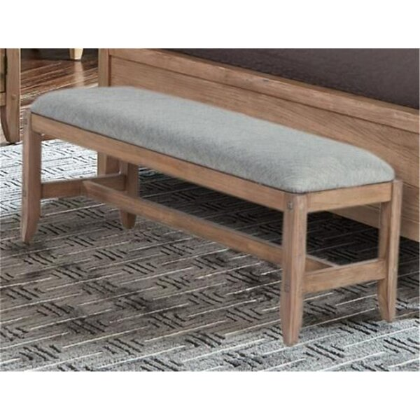 Plainville Upholstered Bench by Foundry Select Foundry Select
