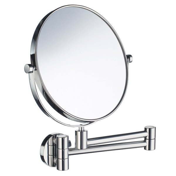 Outline Three-Time Magnifying Shaving & Makeup Mirror by Smedbo