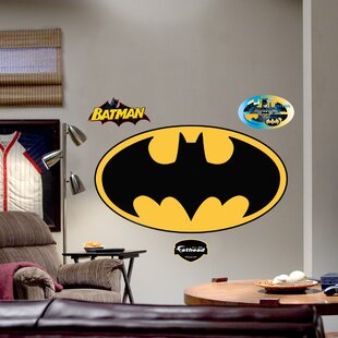 Super Heroes Batman Logo Wall Decal