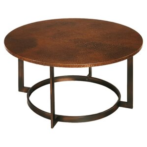 round metal-top coffee tables you'll love | wayfair