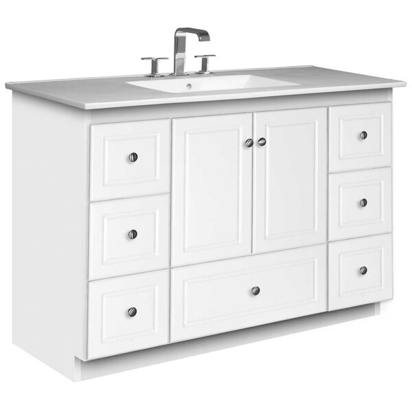 Simplicity 49 Single Bathroom Vanity Set by Strasser Woodenworks