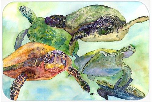 Turtle Kitchen/Bath Mat by Caroline's Treasures