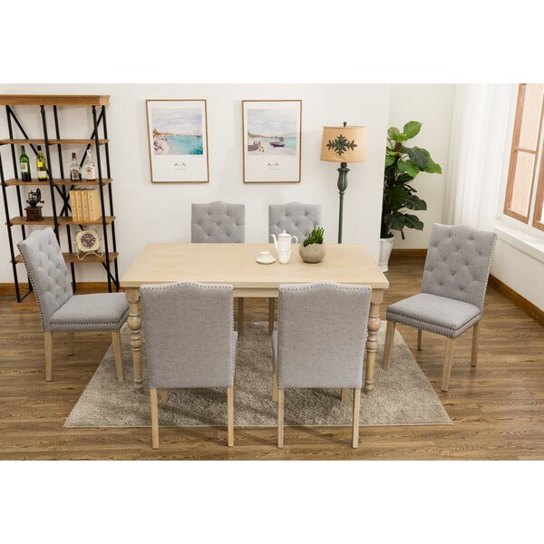 Edeline Country Styled 7 Piece Dining Set by One Allium Way