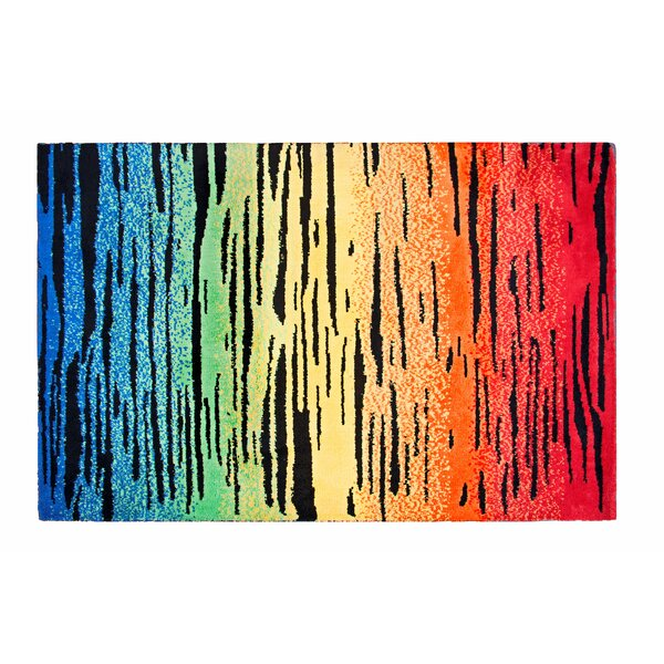 Color Drip Red/Yellow Area Rug by Crayola LLC