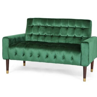 Papillion Tufted Loveseat