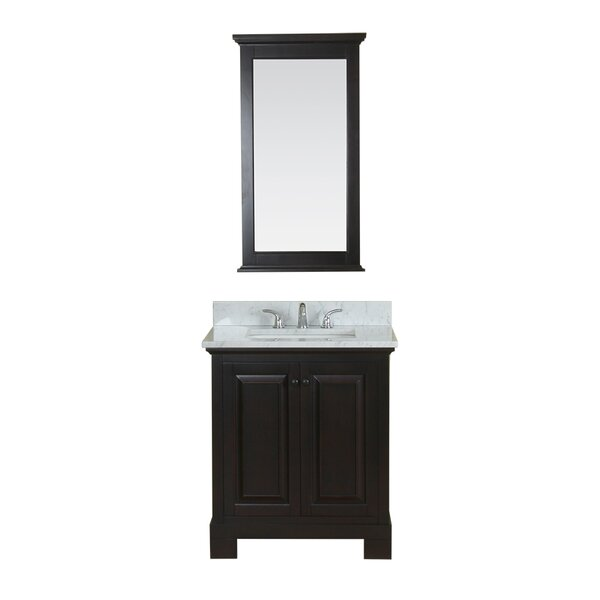 Cothern 30 Single Bathroom Vanity Set with Mirror by Red Barrel Studio