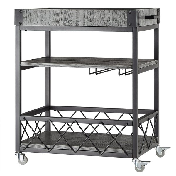 Zona Bar Cart by Mercury Row