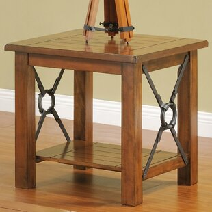 Online Reviews Abby End Table By Loon Peak
