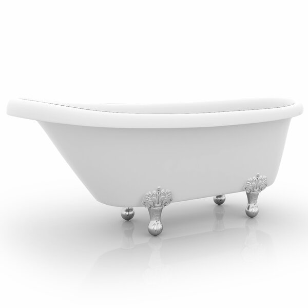 Monroe 67 x 26.3 Claw Foot Bathtub by Ancona