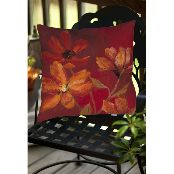 Larchmont Outdoor Throw Pillow by Andover Mills
