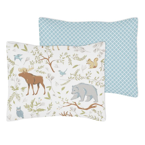 Woodland Toile Standard Pillow Sham by Sweet Jojo Designs