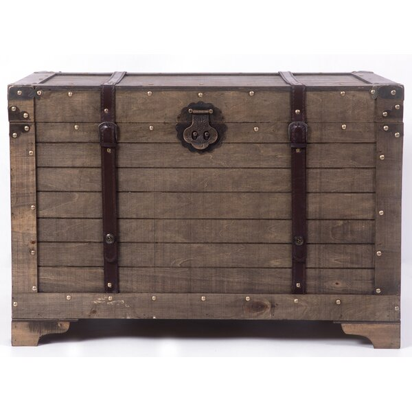 Kerri Trunk Coffee Table With Lift Top By Williston Forge