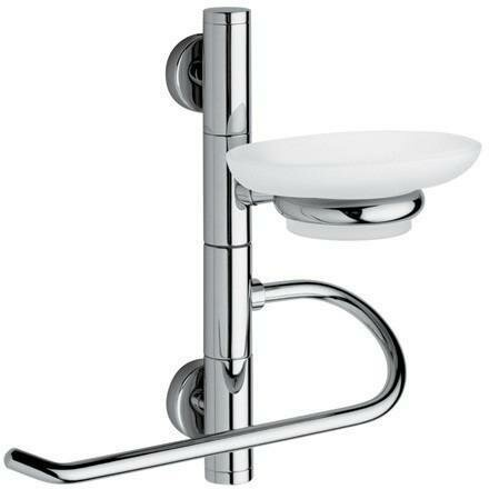 Wall Towel Ring With Soap Dish by AGM Home Store