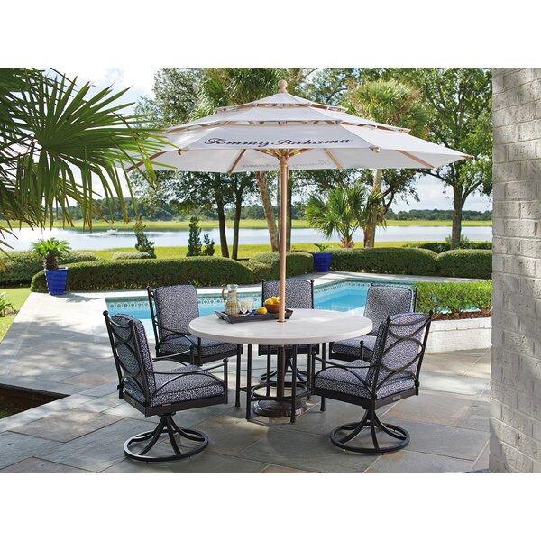6 Piece Dining Set with Sunbrella Cushions
