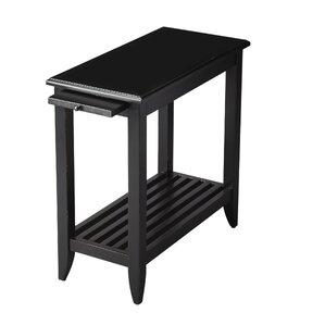 Three Posts Adalaide End Table With Storage�