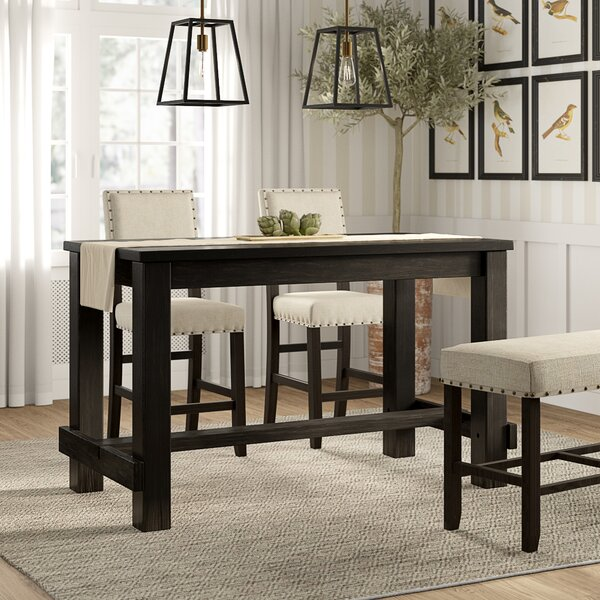 Homan 5 Piece Counter Height Dining Set By Alcott Hill